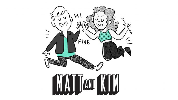 Matt and Kim ditched a menacing tornado back in the day. Is there anything they can't do? https://t.co/sGuPAPHizs https://t.co/IFuIp1fiej