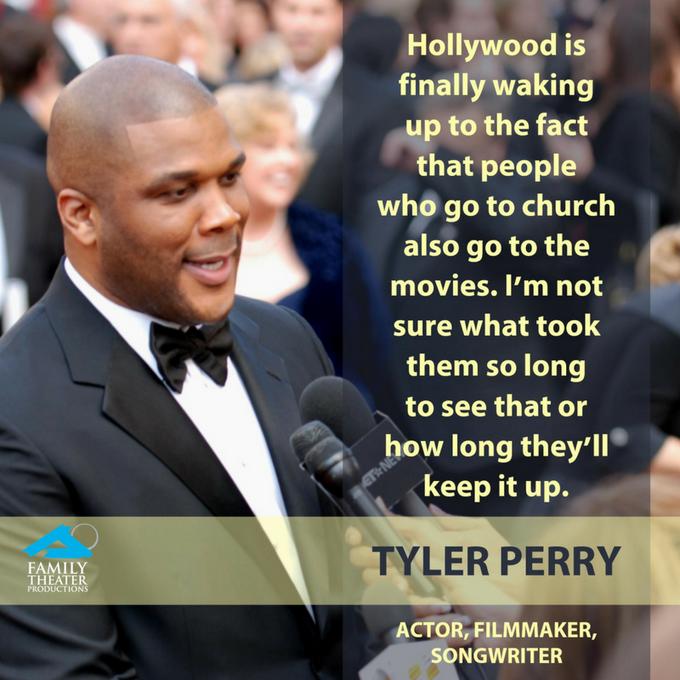 Happy Sept. 13 birthday to filmmaker Tyler Perry ...