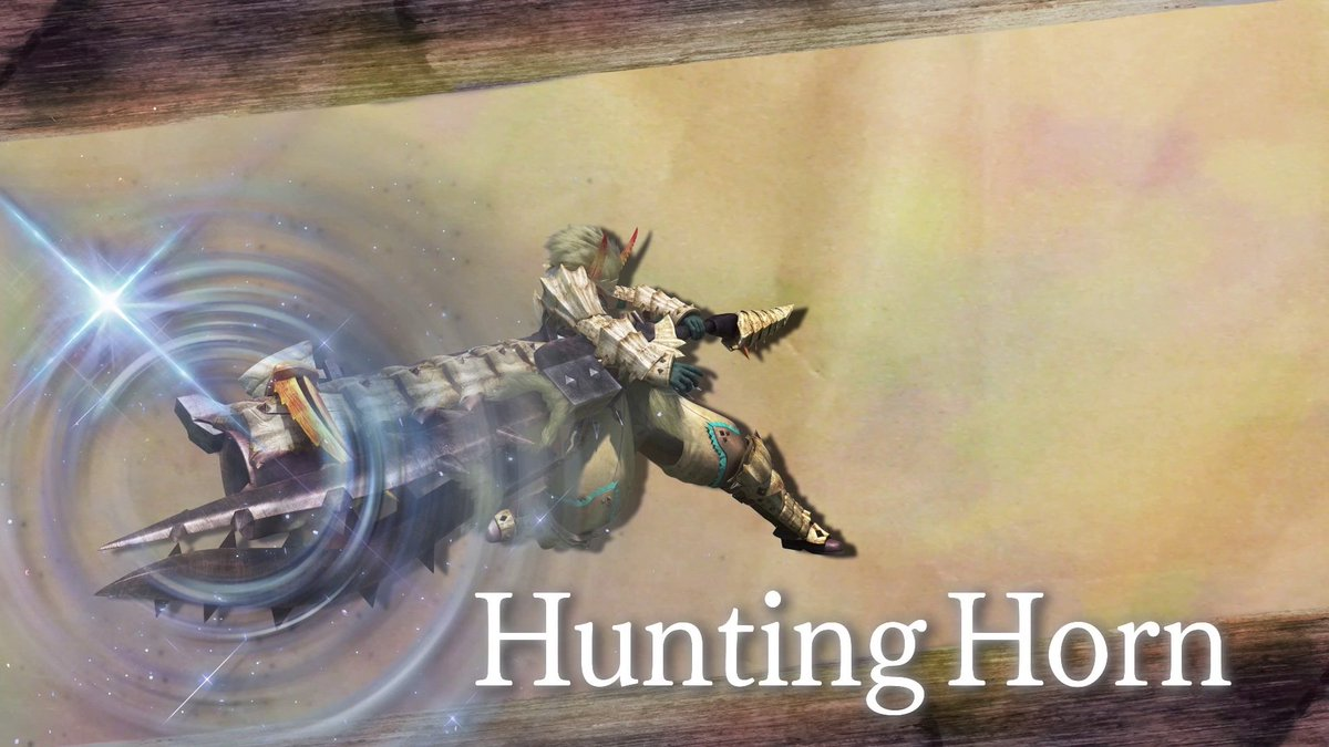 Monster Hunter On Twitter The Hunting Horn Allows You To
