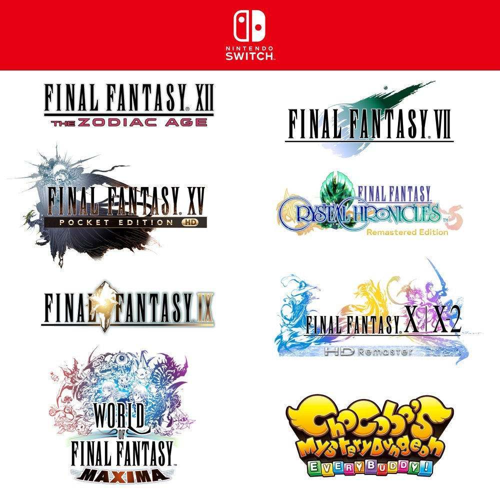 A Number Of Older Final Fantasy Games Are Coming To NintendoSwitch https://t.co/v5lpKOhzuk https://t.co/eBNkvIcLZ7