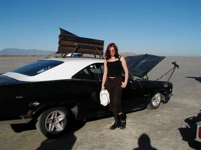 'I had just started as an intern for Jamie when MythBusters started filming. Their first episode was Jet Car, and I really wanted to go to the shoot but I had to work my restaurant night job. After my shift, I drove all night. TOTALLY worth it.' -- @KariByron #tbt