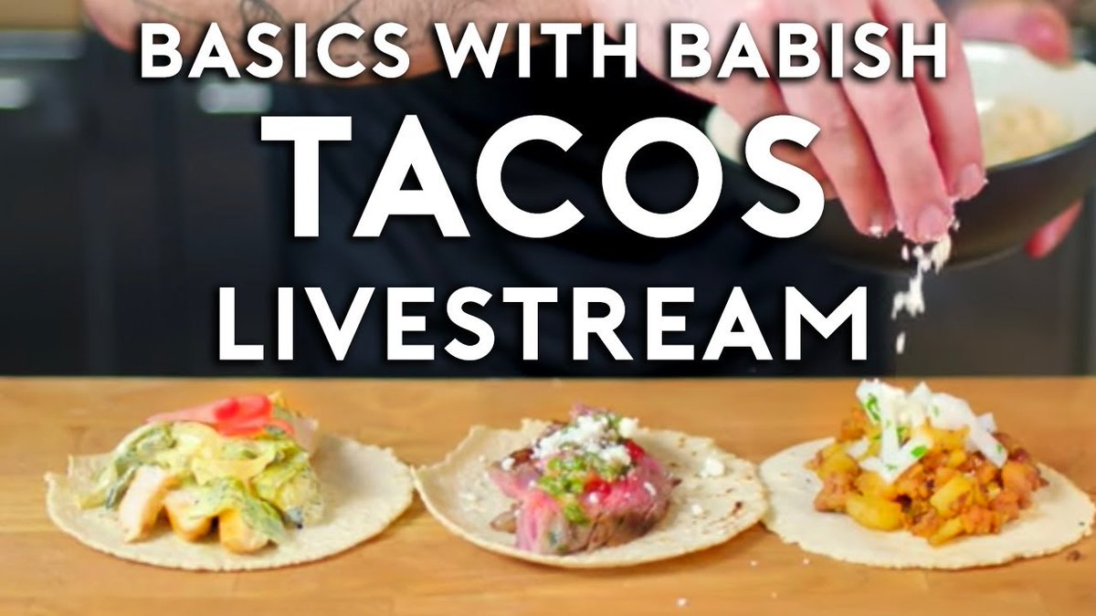 🚨 ONE HOUR until tonight's @BingingWBabish livestream! 🚨  Watch here: https://t.co/xOVkXsBYh0.