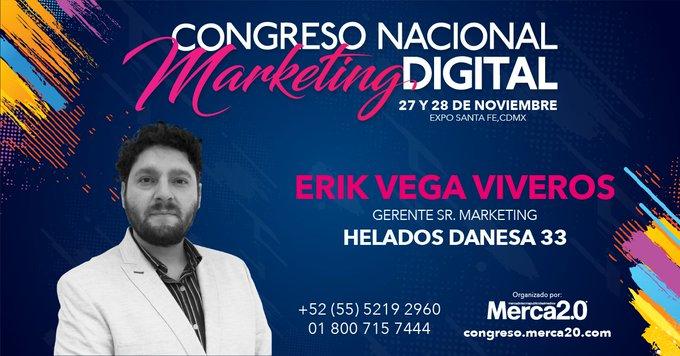 30 líderes del Marketing Digital a nivel Latinoamérica han sido seleccionados para analizar con ellos, como enfrentan los retos en la evolución digital. Congreso Nacional de Marketing Digital 2018 27 y 28 noviembre, Expo Santa Fe, CDMX Compra aquí: Foto