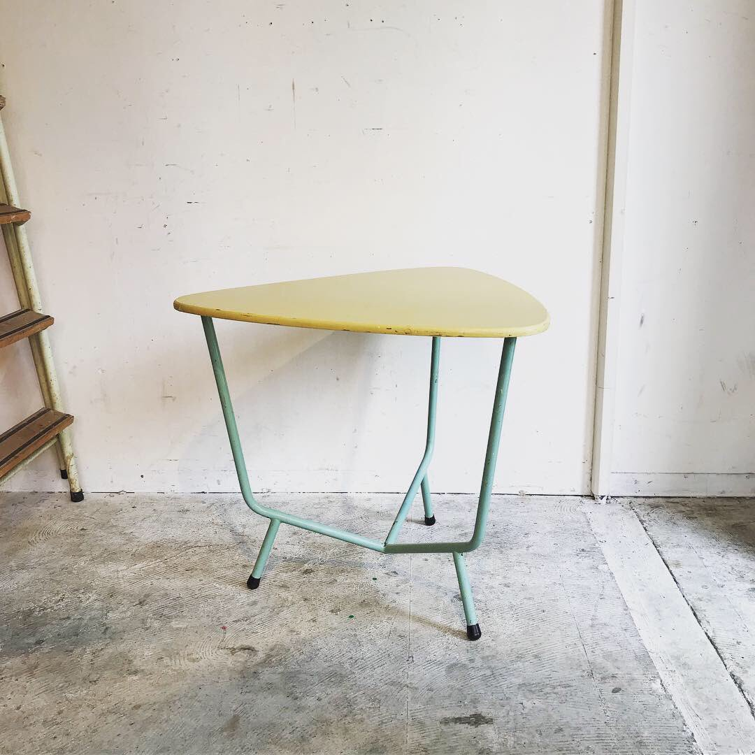 couscous furniture on twitter auping triangle side table by wim