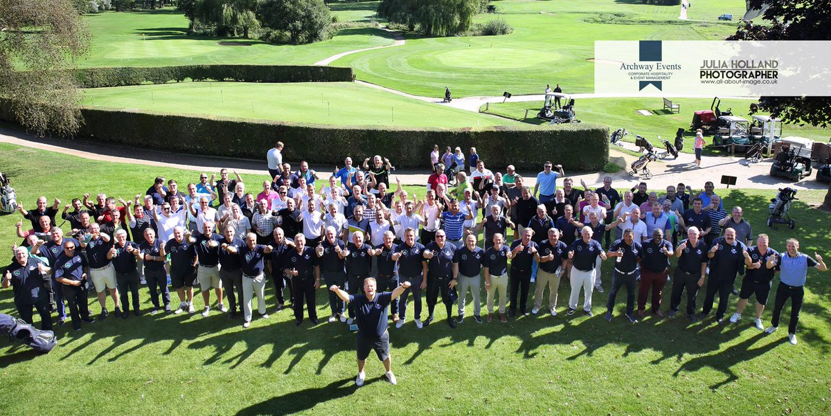 Another great photo from @JuliaHolland showing all the celebrities & clients that played in Norfolk's biggest ever celebrity charity golf day at @barnhambroom ! Thanks to everyone who booked a team - really appreciate your business. Next year will be even bigger !