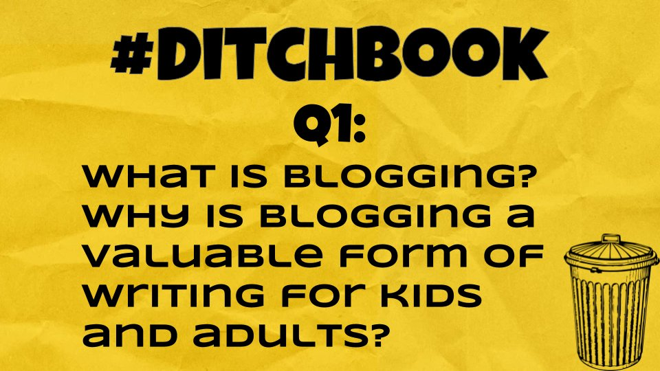 💥Here it is! ❓Question❓1 is 🆙 🚨Q1 #Ditchbook 🚨