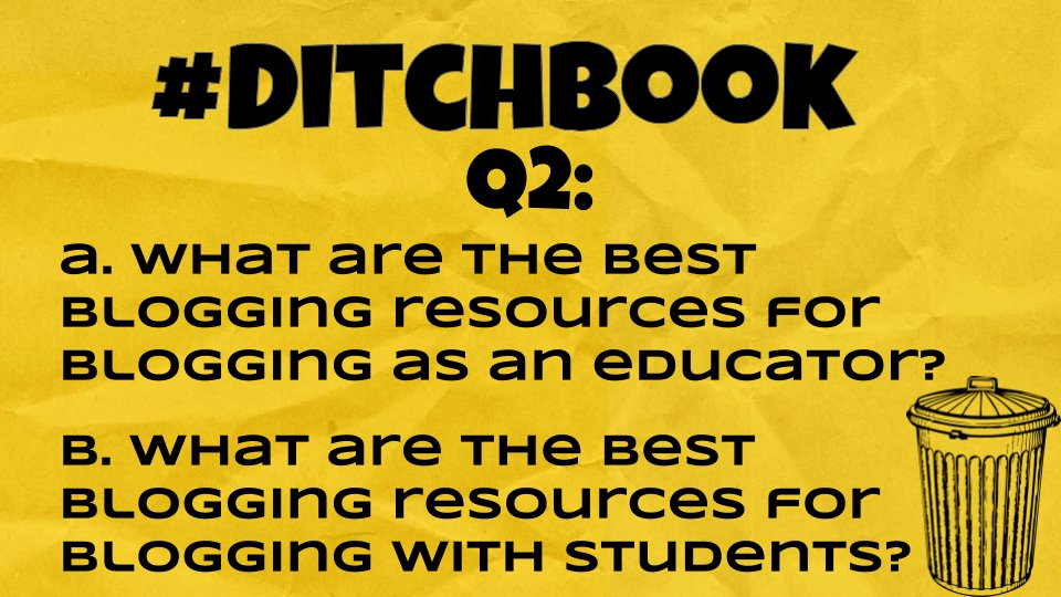 💥Here it is! ❓Question❓2 is 🆙 🚨Q2 #Ditchbook 🚨