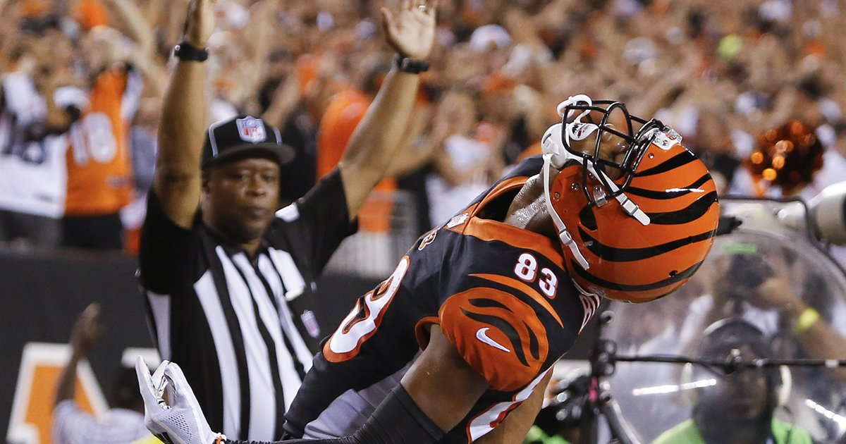 2-0 to start the season.  Watch full highlights from the #Bengals 34-23 win over the Baltimore Ravens. #BALvsCIN #SeizeTheDEY    :  https:// go.bengals.com/2xhqaoq  &nbsp;  <br>http://pic.twitter.com/OSfgrsS3wJ
