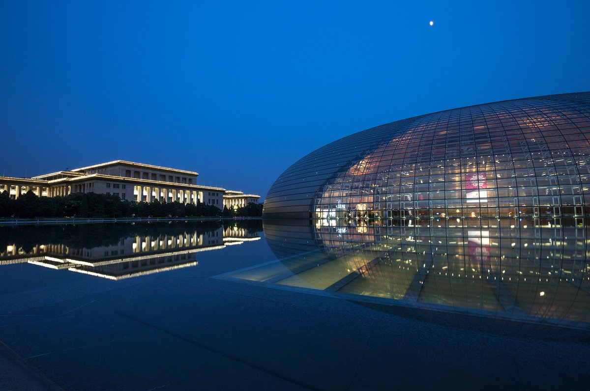 A lot has changed since we first started flying to the Chinese capital in 1988. Now #Beijing boasts futuristic #architecture such as the National Grand Theatre. Read about the city's remarkable evolution in #BlueWings ow.ly/TiQN30lLFak #FinnairChina30 #China