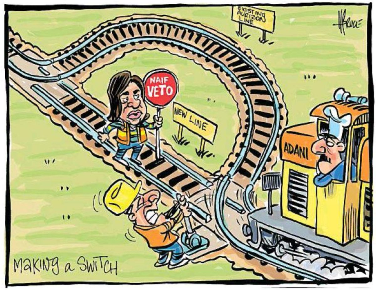 Terry Hughess Tweet The Cartoon Show A Trainload Of Dirty 2 Way Switch Animation After Trying To Veto Thousands Jobs In Regional Queensland Adani Has Found Bypass Labors Lunacy Labor Abandoned Workers Lnpqld Is