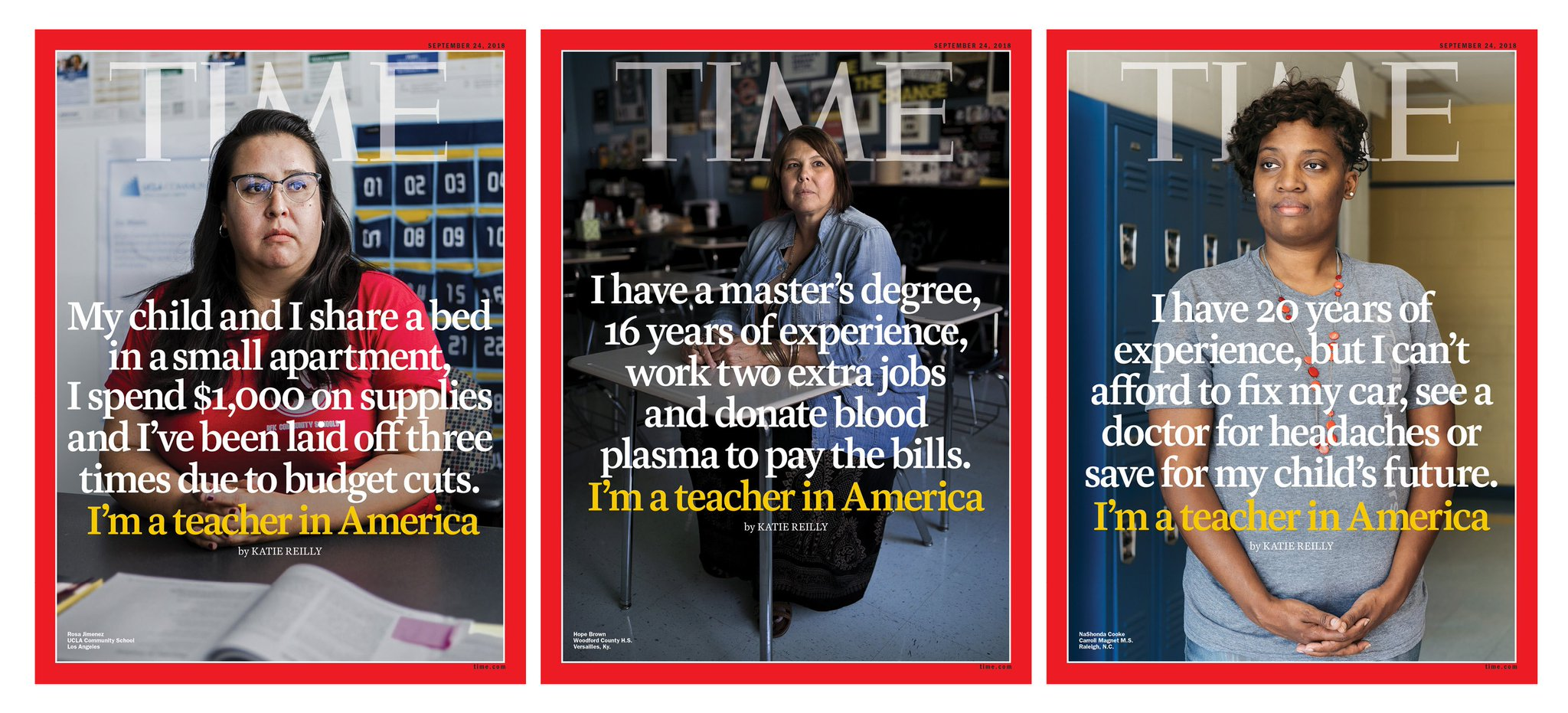 TIME's new cover: This is what it's like to be a teacher in America https://t.co/G9wP2iLGD6 https://t.co/RayMe3ieO0