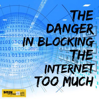 The danger in blocking the Internet too much ditchthattextbook.com/2016/02/29/the… #ditchbook #edtech
