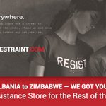 Image for the Tweet beginning: #GlobalResistance is a thing. We