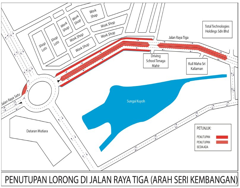 Mass rapid transit on twitter lane closure at jalan raya tiga mass rapid transit on twitter lane closure at jalan raya tiga both bound date 14 september 2018 14 december 2018 time 24 hours duration 3 ccuart Images