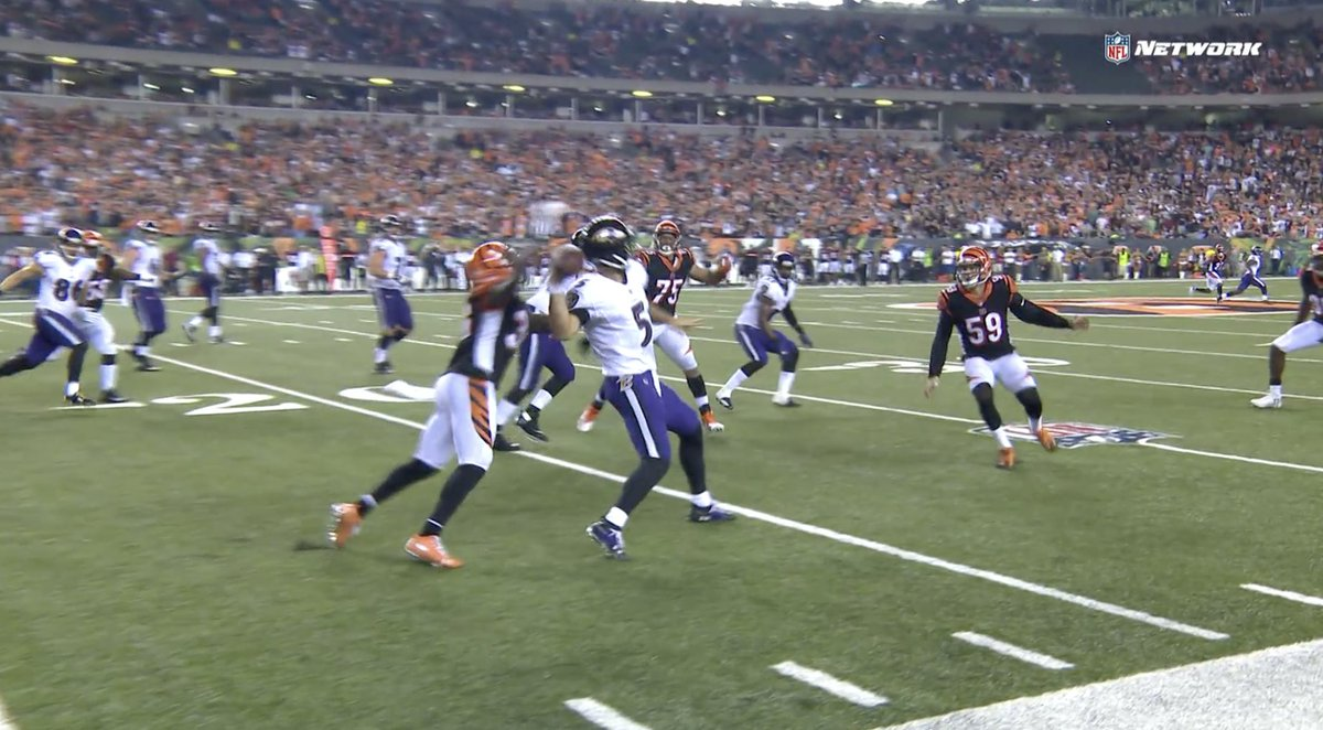Shawn Williams forced fumbled might've sealed it.  #BALvsCIN <br>http://pic.twitter.com/xk7M2opEp2