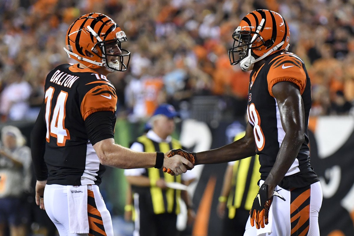 Bengals handled business   They finish off the Ravens, 34-23  #BALvsCIN <br>http://pic.twitter.com/sANF1zDGze