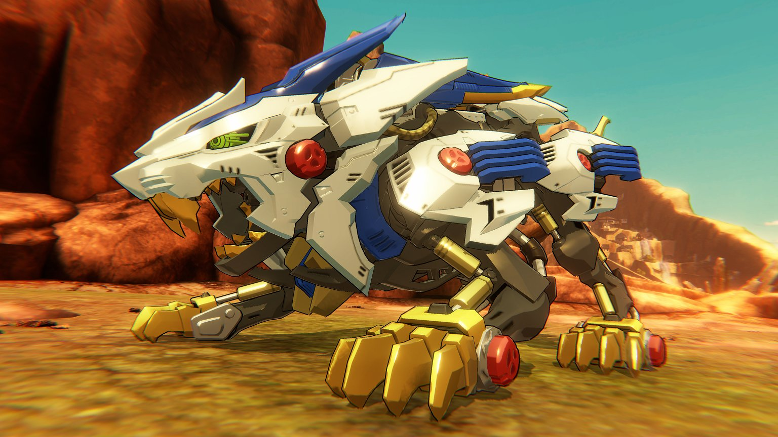 first screenshot of the zoids wild game for switch resetera