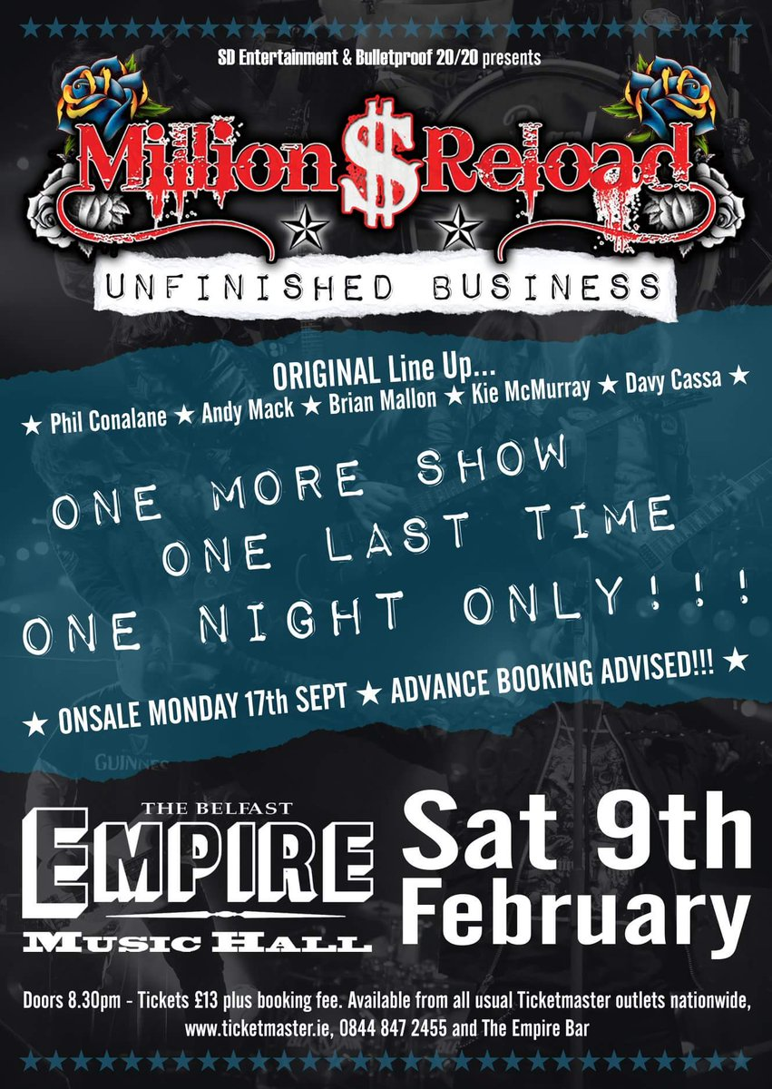 Belfast Empire's photo on ON SALE NOW