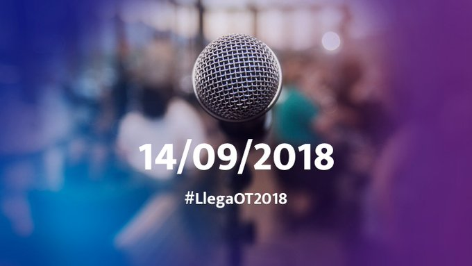 #LlegaOT2018 Photo