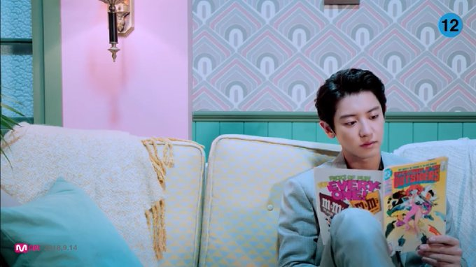 THE MV IS SO CUTE AND THE STUDIO VERSION OF THE SONG IS REALLY GOOD THE WORLD NEEDS THIS SUB-UNIT TO LIVE LONGER #WeYoung_ChanyeolxSehun Photo