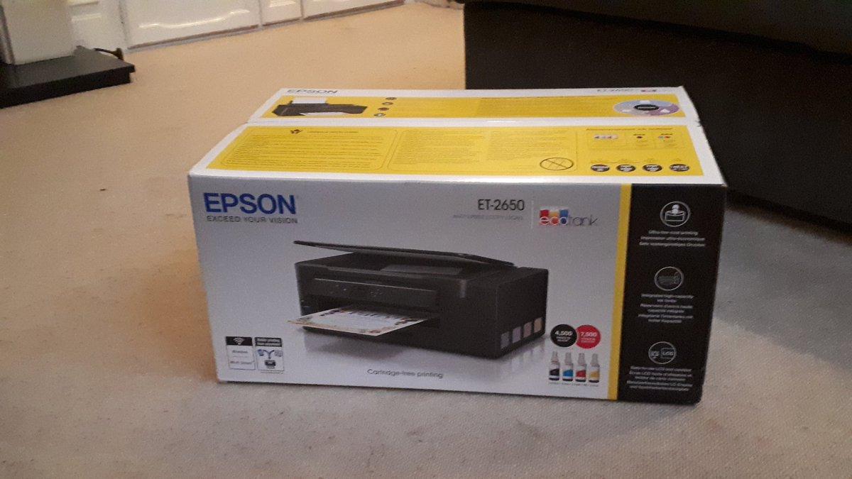 Epson printer boxed