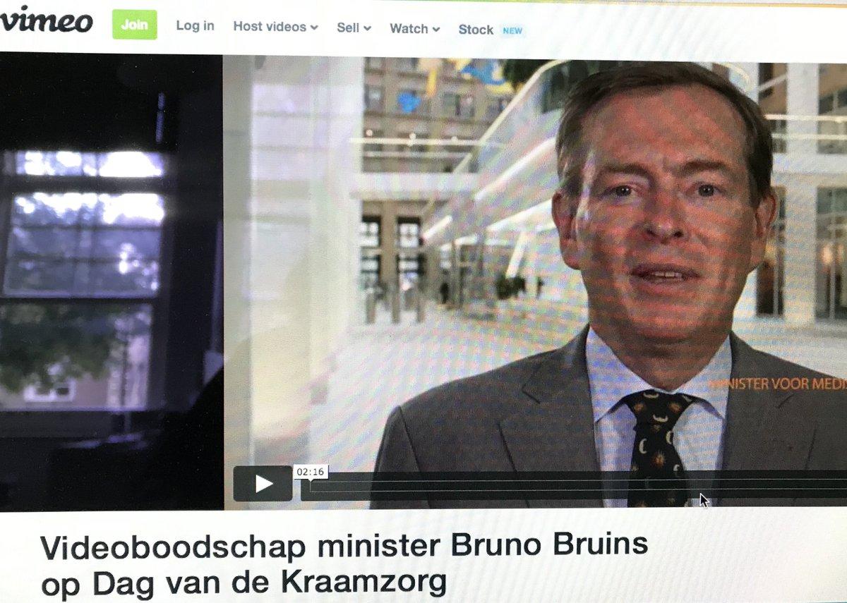 Minister Bruins voor Medische Zorg waardeert het werk van kraamverzorgenden. Bekijk zijn videoboodschap voor de kraamzorg https://www.kckz.nl/overige-berichten/videoboodschap-minister-bruins-op-dag-van-de-kraamzorg/…