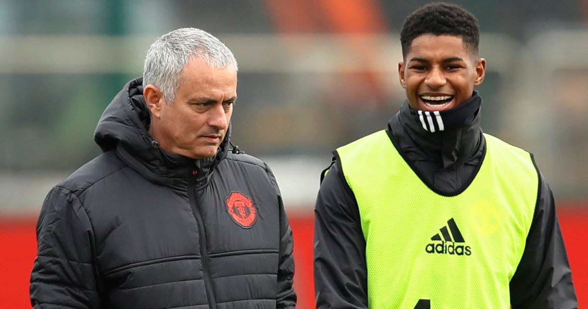 """Marcus Rashford is not Dominic Solanke, not Ruben Loftus-Cheek, not Dominic Calvert-Lewin, is Marcus Rashford, Manchester United player, with an incredible number of appearances and an incredible number of minutes played at the highest level"""" - José Mourinho"""