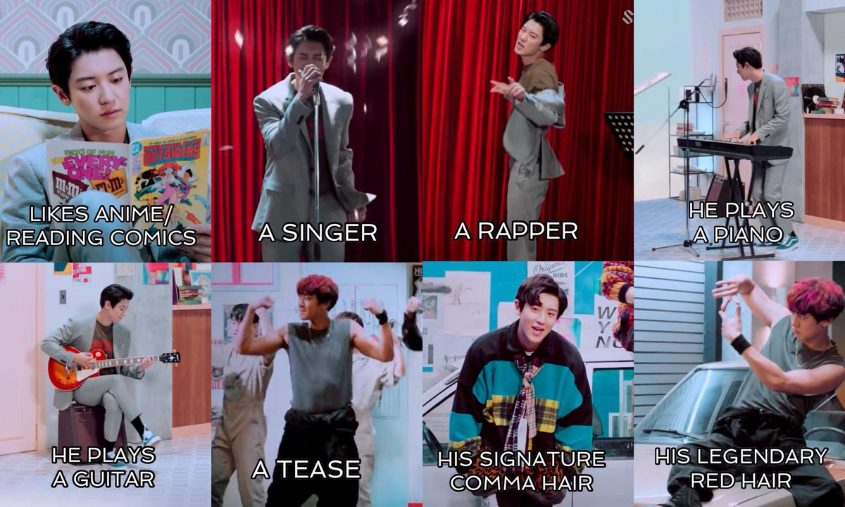 PARK CHANYEOL BEING PARK CHANYEOL IN WE YOUNG MV 💕 #WeYoung_ChanyeolxSehun #찬열세훈_We_Young