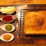 食パン好き必見!高級トーストと16種のジャムが楽しめるお店!