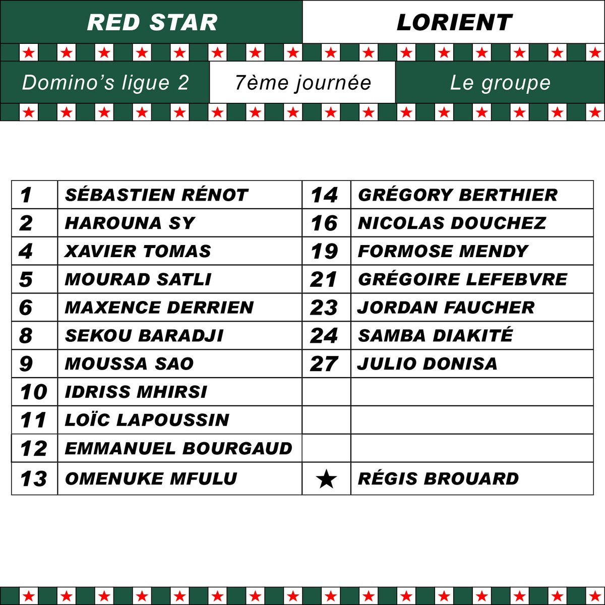 Groupe Red Star