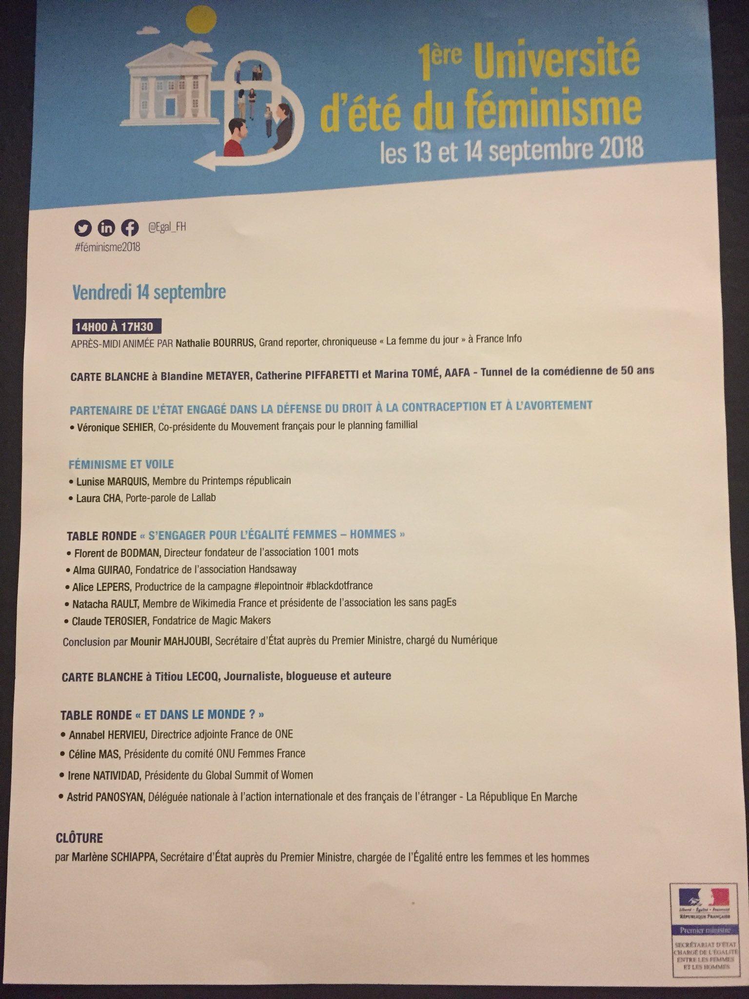 Secretariat DEtat Charge De LEgalite No Twitter Feminisme2018 Des 9h30 Suivez Les Echanges Sur Themes Peut On Etre Feministe Et Mere Au