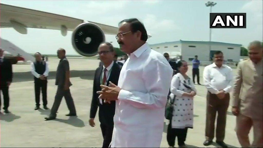 Delhi: Vice President M Venkaiah Naidu embarks on a three-nation visit to Serbia, Malta & Romania.