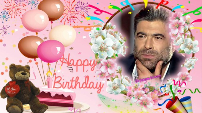 Happy  Birthday     WAEL KFOURY I Love you WAEL KFOURY