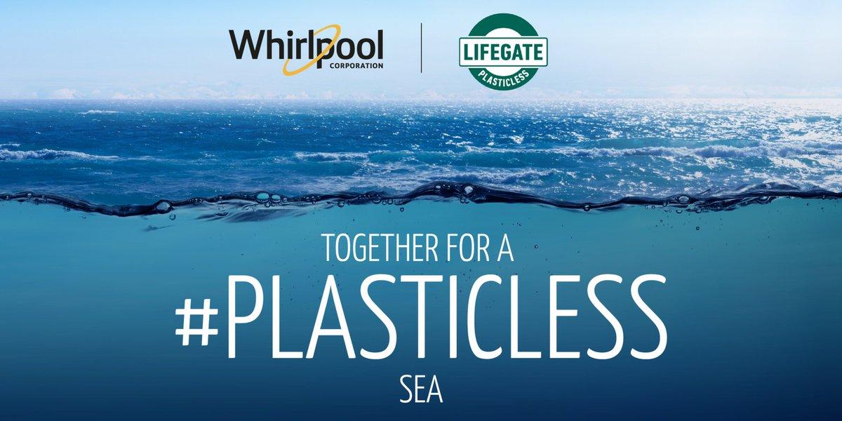 731 tonnellate di rifiuti di plastica vengono gettati nel Mediterraneo e potrebbero raddoppiare entro il 2025. Servono azioni concrete. Per questo seguirò oggi #Plasticless dove @WhirlpoolCorp da sempre impegnata per l\