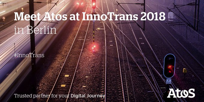 The countdown is on for #Innotrans in Berlin! We are pleased to invite you...