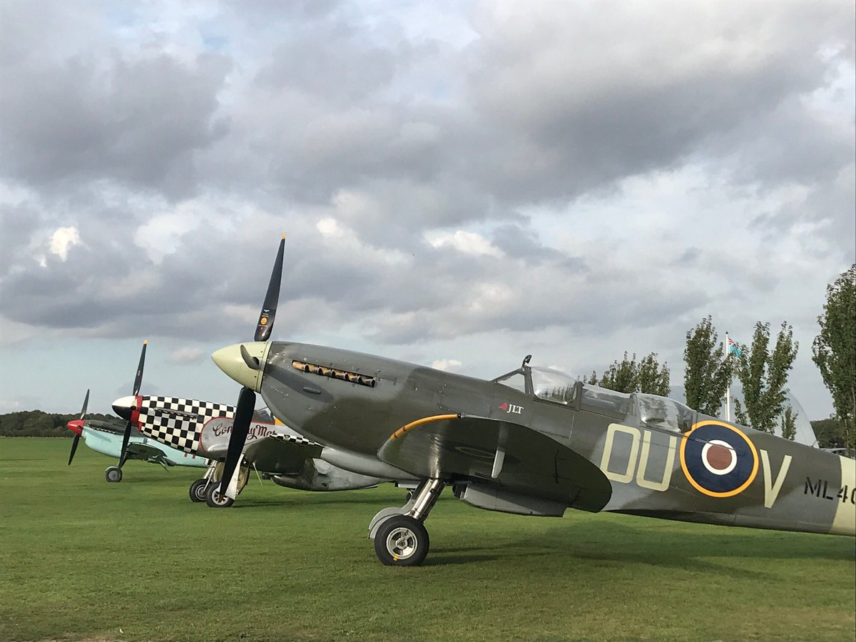 test Twitter Media - UltimateWarbirdFlights in triplicate. Grace Spitfire with new two-seat playmates! Incredible sight, sound and whole new experience you can now have! FLIGHTS@ML407.co.uk https://t.co/0YdJWPI23d