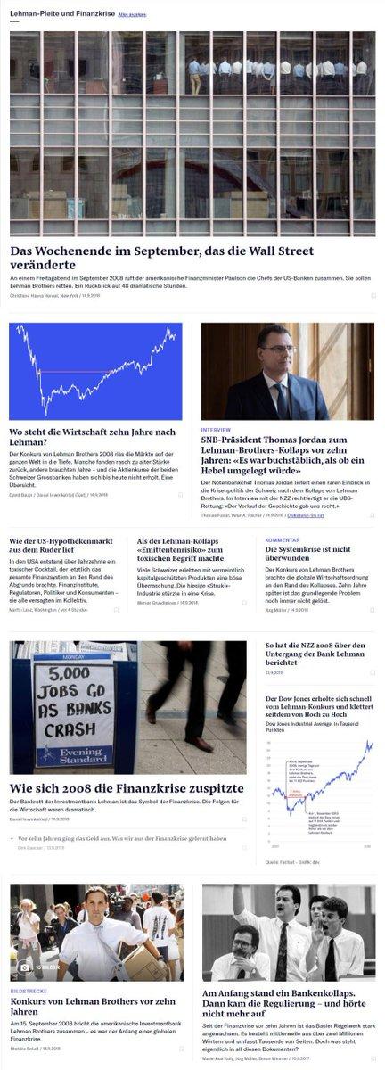 Neue Zürcher Zeitung On Twitter Vor Zehn Jahren Riss Der Konkurs