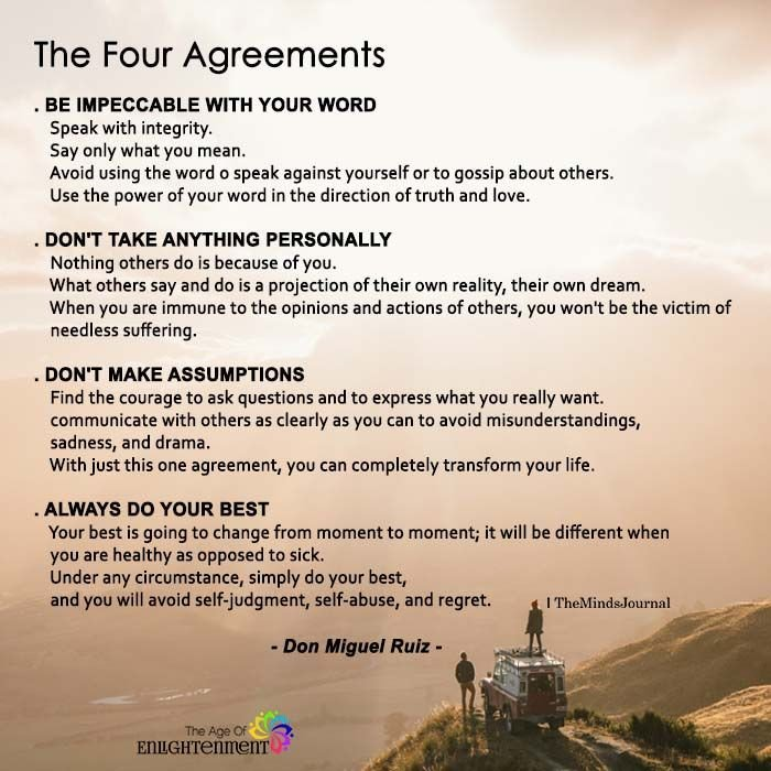 Ndang Sugiharto On Twitter The Four Agreements Quotes