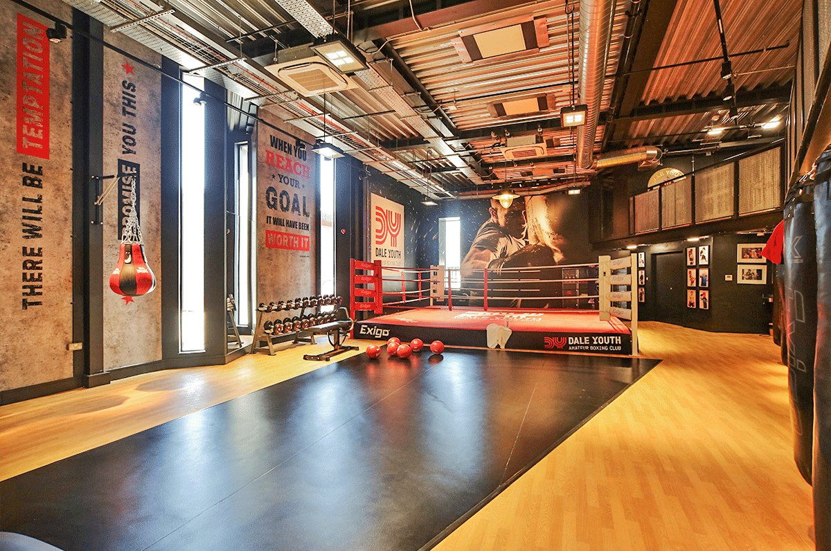 Gerflor took part in the DIY SOS TV program, donating Taraflex floor to the Dale Youth Boxing Club located in London (United-Kingdom)