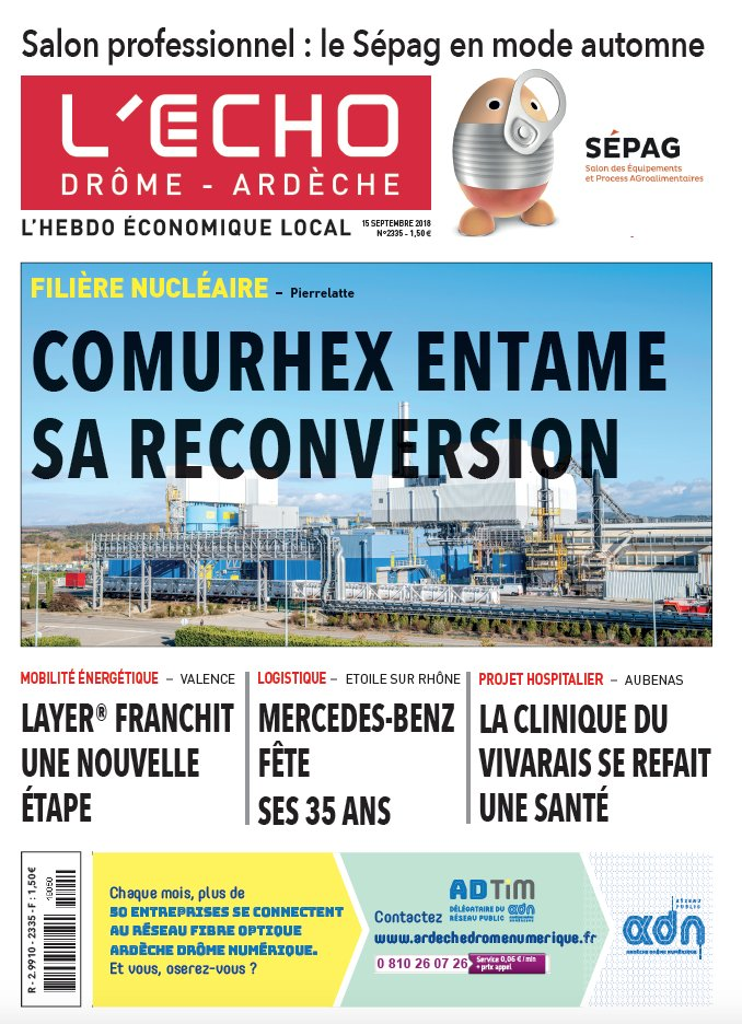 Lecho Drôme Ardèche On Twitter à La Une De