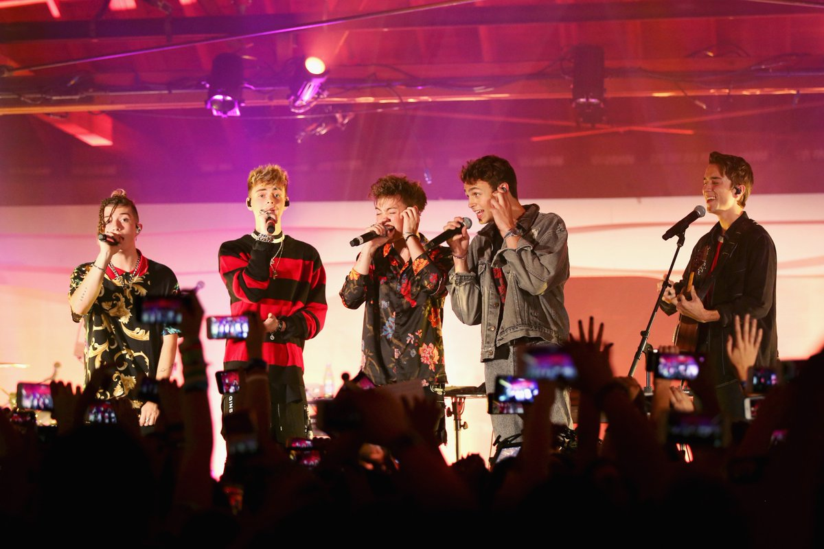 .@whydontwemusic had us hooked at last night's Pop Coast Hits show in Los Angeles! #PandoraLive #WhyDontWe