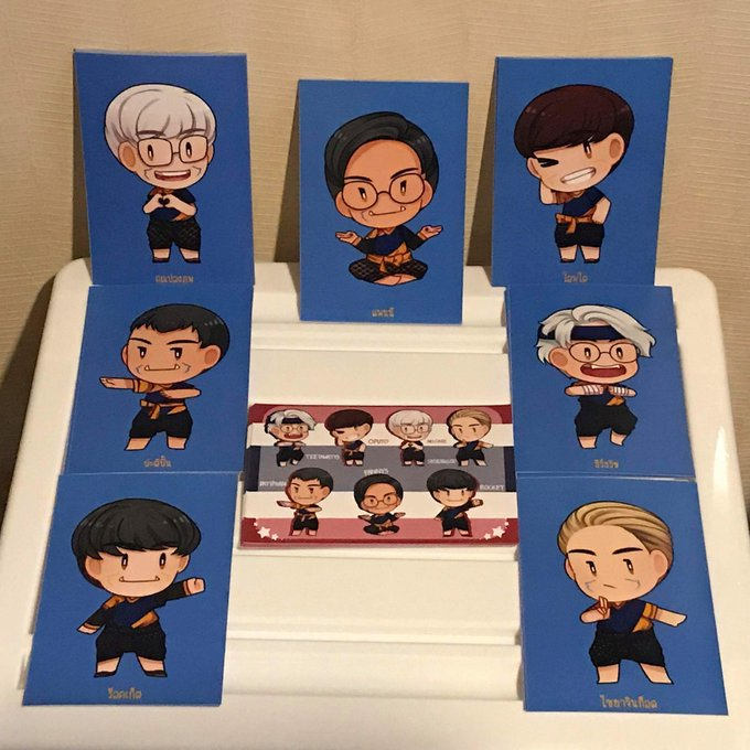 I have some #Thaitans prints to give away tomorrrow. See you guys! #OWWC2018 Photo
