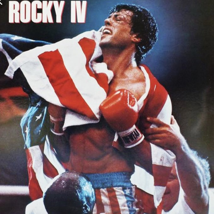 #InThe80sWe witnessed Rocky Balboa single handedly end the Cold War Photo