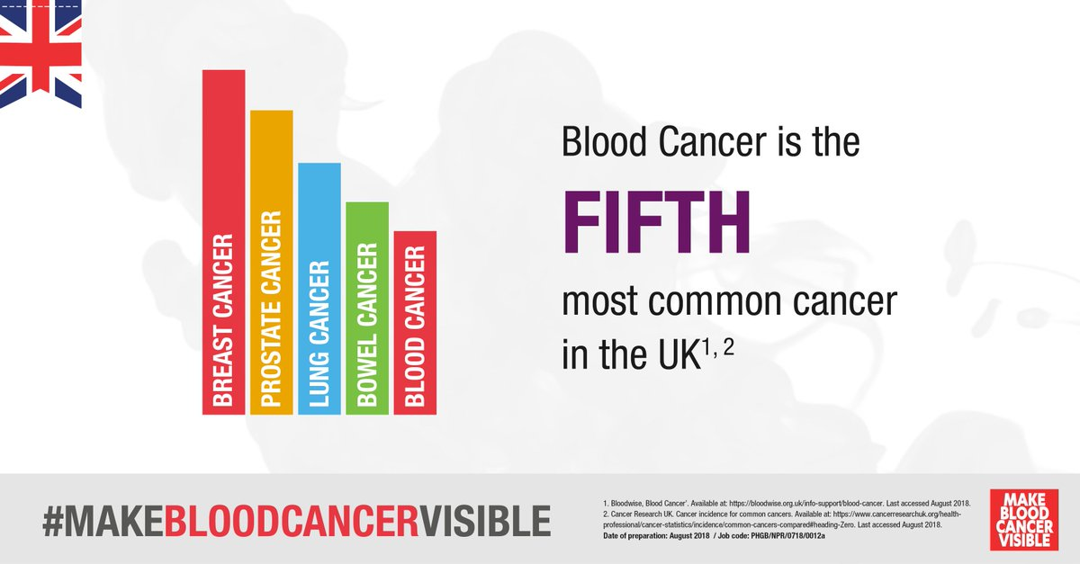d91193f0b4f #Bloodcancer is the fifth most common #cancer in the UK. Please help  #makebloodcancervisble this September (blood cancer #awareness month) #RT  this post.