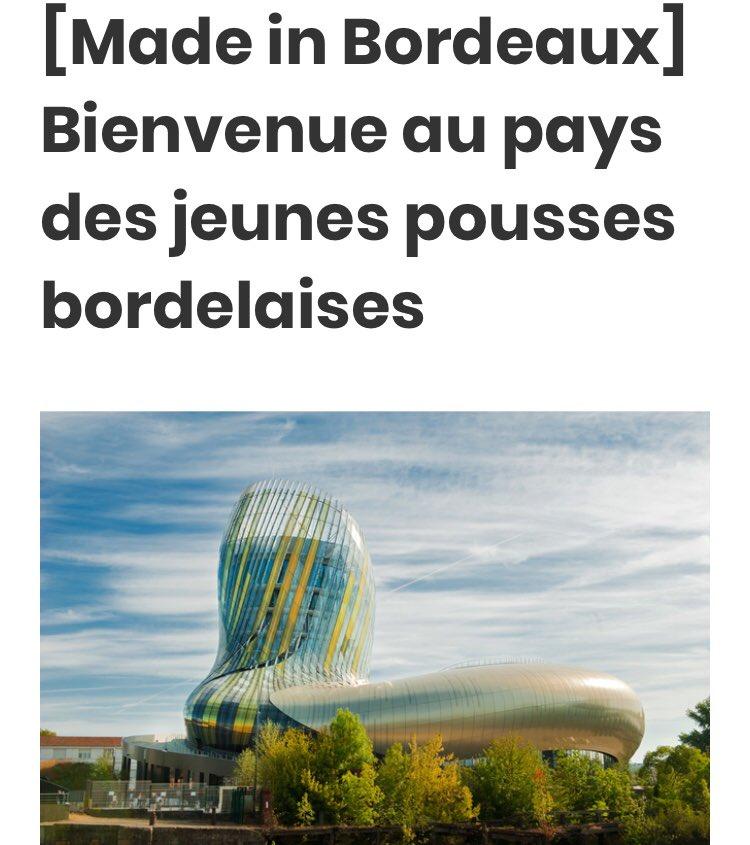 Focus sur les 10 structures d'accompagnement des #startup de la métropole #bordelaise ! Excellent témoignage du dynamisme de l'écosystème @FrenchTechBx 👌🤩 via @frenchweb https://t.co/6mJbvP55Da