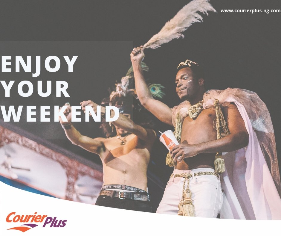 Enjoy your weekend, while we sort out all your deliveries! 💪🏽#courierplus🚛✈️🚢🙋
