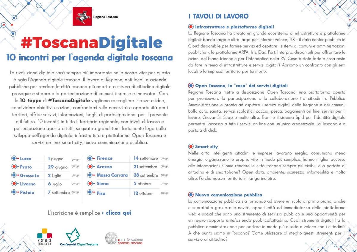Si chiude qui la tappa fiorentina di #ToscanaDigitale Il prossimo appuntamento é in programma venerdì 21 settembre ad Arezzo. Per iscriversi   http:// www.regione.toscana.it/-/toscana-digitale-tour-in-toscana  - Ukustom