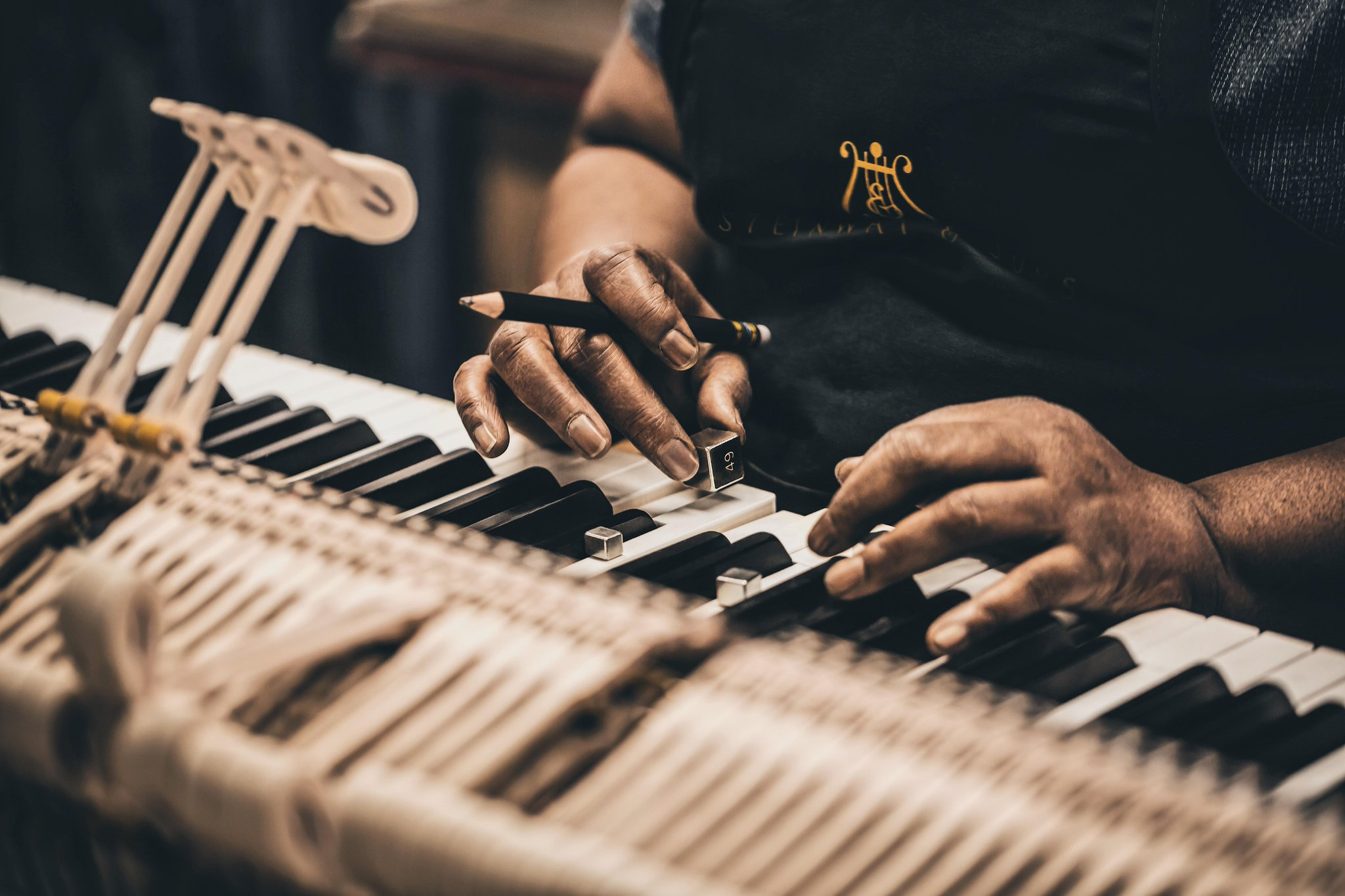 Reloaded twaddle – RT @SteinwayAndSons: Every key on a #Steinway is custom weighted to ensure an ev...
