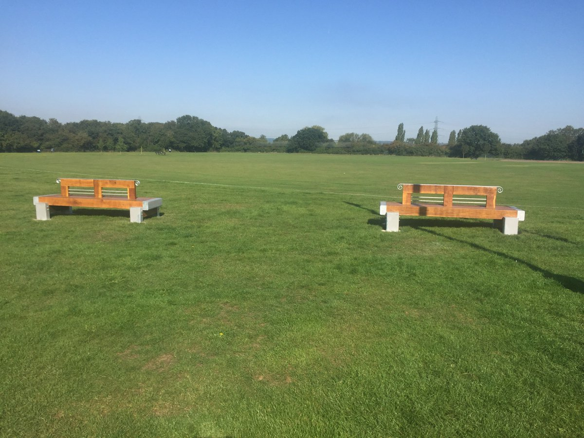 New Benches At Woodside Park Benfleet