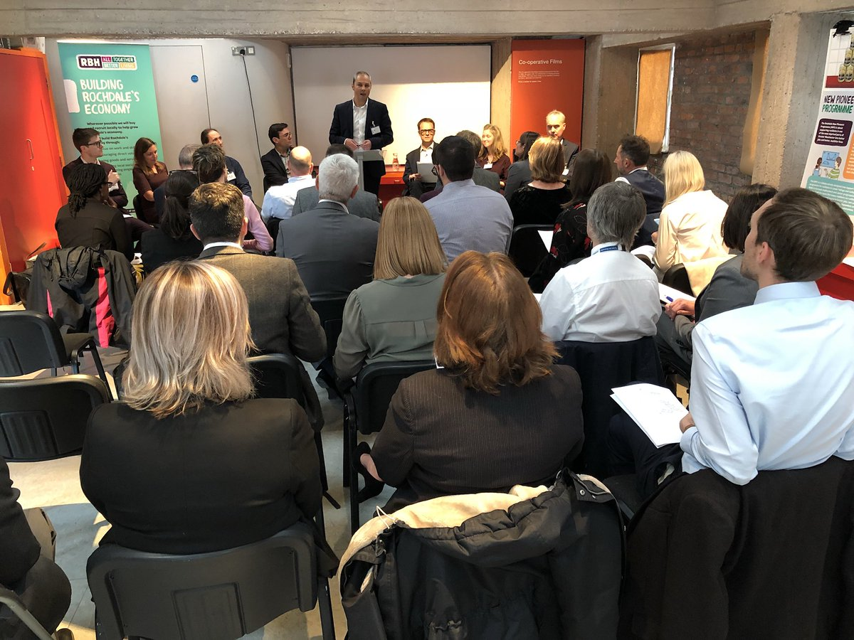We're thrilled to be at the @PioneersMuseum today with @theRSAorg to set out our New Pioneers Programme, a pioneering approach to supporting town centre residents. Thanks to our guest speakers @MayorofGM, @edcox_rsa, @RSAMatthew, @KatieSchmuecker and Richard Tang of @zeninternet.